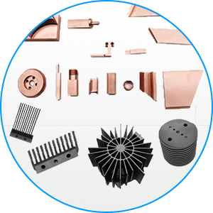 Réalisation d'électrodes cuivre et graphite sur mesure